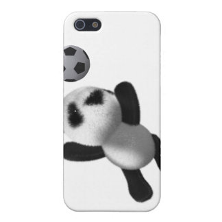 3d Baby Panda Goal! Cover For iPhone SE/5/5s