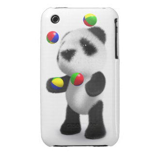 3d Baby Panda Juggles Case-Mate iPhone 3 Case