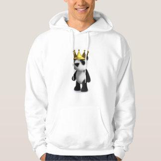 3d Baby Panda King Hoodie