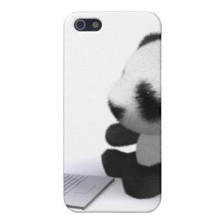 3d Baby Panda Laptop Case For iPhone SE/5/5s