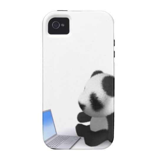 3d Baby Panda Laptop Case For The iPhone 4