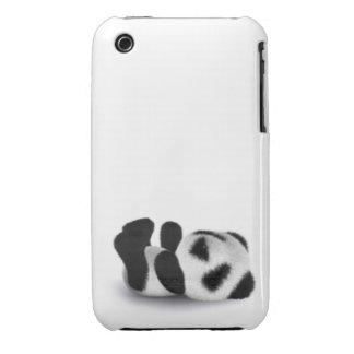 3d Baby Panda Lay iPhone 3 Cover