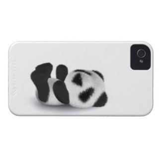3d Baby Panda Lay iPhone 4 Cover