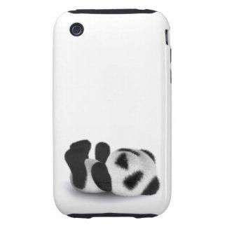 3d Baby Panda Lay Tough iPhone 3 Cover