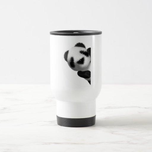 3d Baby Panda Peeps Coffee Mug
