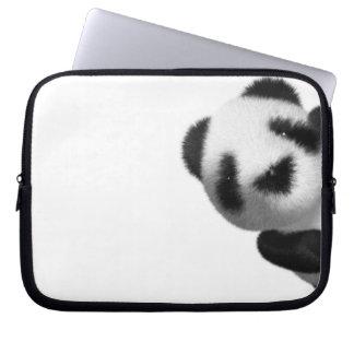 3d Baby Panda Peeps Computer Sleeves