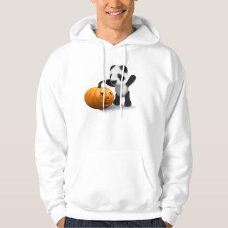 3d Baby Panda Pumpkin Hoodie