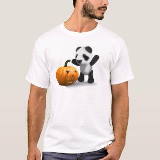 3d Baby Panda Pumpkin T-Shirt