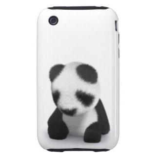 3d Baby Panda Sleepy iPhone 3 Tough Cover
