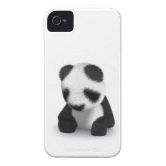3d Baby Panda Sleepy iPhone 4 Cases