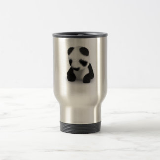 3d Baby Panda Sleepy Travel Mug