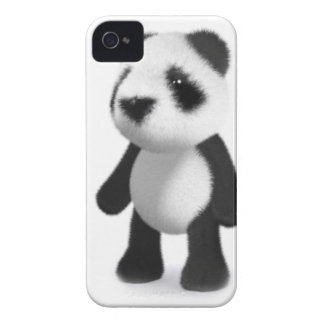 3d Baby Panda Stands Still iPhone 4 Case-Mate Case