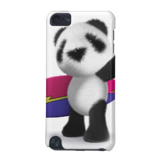 3d Baby Panda Surfboard iPod Touch 5G Cases