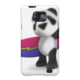 3d Baby Panda Surfboard Samsung Galaxy Cover
