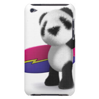 3d Baby Panda Surfboard iPod Touch Case
