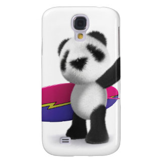 3d Baby Panda Surfboard Galaxy S4 Cover