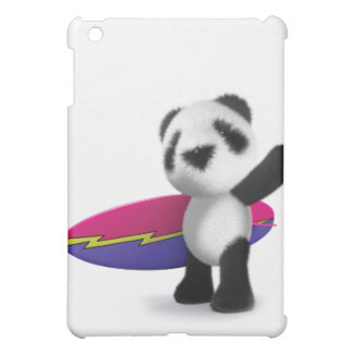 3d Baby Panda Surfboard Case For The iPad Mini