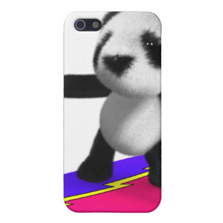 3d Baby Panda Surfing iPhone 5 Case