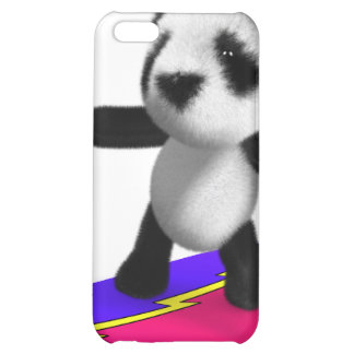 3d Baby Panda Surfing Case For iPhone 5C