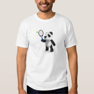 3d Baby Panda Tennis Tshirt