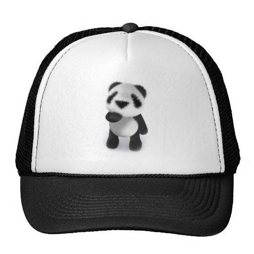 3d Baby Panda Watches Trucker Hat