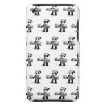 3d Baby Panda Weightlifter iPod Touch Case-Mate Case