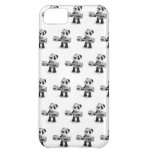 3d Baby Panda Weightlifter iPhone 5C Covers