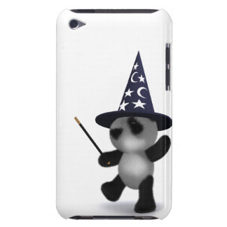 3d Baby Panda Wizard Barely There iPod Case