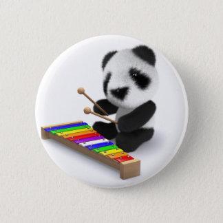3d Baby Panda Xylophone Button