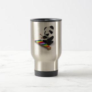 3d Baby Panda Xylophone Travel Mug