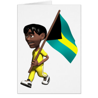 3D Bahamas Card