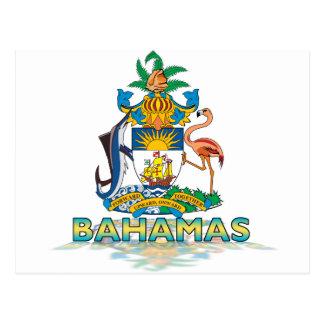3D Bahamas Postcard