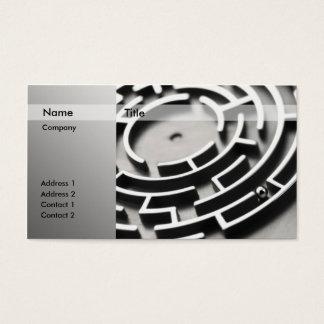 3D Ball Maze Business Card