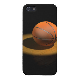 3d Basketball in Spotlight Case For iPhone SE/5/5s