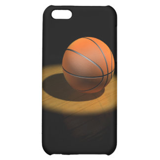 3d Basketball in Spotlight iPhone 5C Case