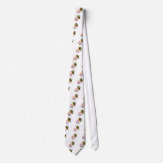 3d Bee Cake Neck Tie
