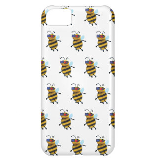 3d Bee wearing 3d Glasses iPhone 5C Cover