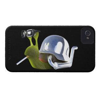 3d Biker Snail Hells Angel iPhone 4 Case-Mate Case