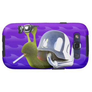 3d Biker Snail Hells Angel Galaxy S3 Case