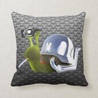 3d Biker Snail Hells Angel Pillows