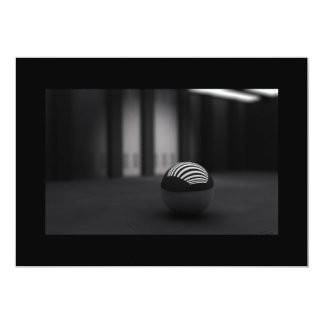 """3d_black_ball-1680x1050 invitación 5"""" x 7"""""""