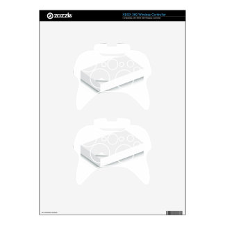 3d Blank Paper Stack Xbox 360 Controller Skin