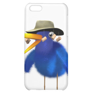 3d Blue Bird Australian Cover For iPhone 5C