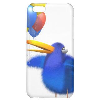 3d Blue Bird Balloons iPhone 5C Covers