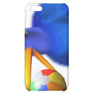 3d Blue Bird Beach Ball iPhone 5C Cover