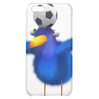 3d Blue Bird Football iPhone 5C Covers