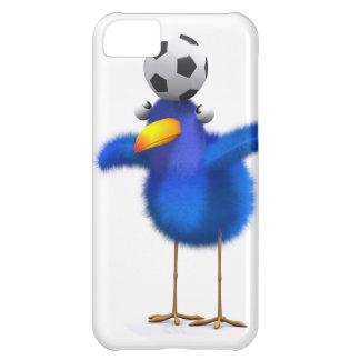 3d Blue Bird Head Ball iPhone 5C Cover