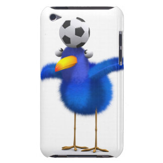 3d Blue Bird Head Ball iPod Touch Case-Mate Case