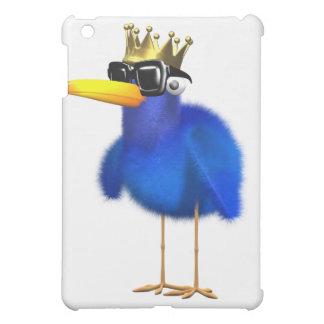 3d Blue Bird King iPad Mini Case
