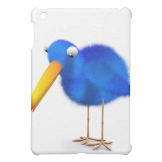 3d Blue Bird looks down iPad Mini Cover